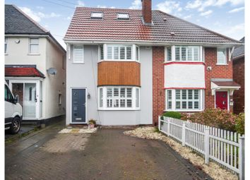 Thumbnail 3 bed semi-detached house for sale in Barn Lane, Solihull