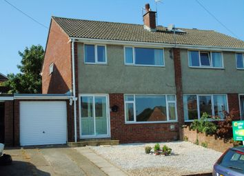 Thumbnail 3 bed semi-detached house for sale in Catkin Drive, Penarth