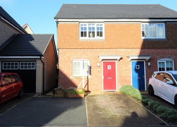 Thumbnail 2 bed semi-detached house for sale in Shuttle Drive, Heywood