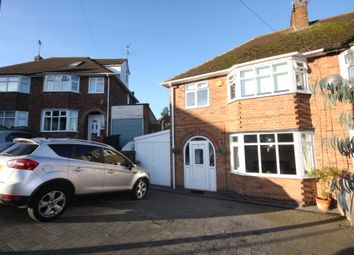 Thumbnail 3 bed semi-detached house for sale in Ditchling Avenue, Western Park, Leicester