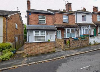 Thumbnail 2 bed end terrace house for sale in Liverpool Road, Watford, Hertfordshire