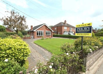 Thumbnail 2 bed detached bungalow for sale in Park Lane, Knypersley, Stoke-On-Trent