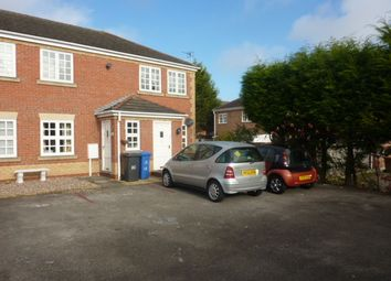 Thumbnail 2 bed flat to rent in Roseheath Close, Sunnyhil, Derby