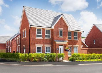 "Thumbnail 3 bed detached house for sale in ""Morpeth"" at Rykneld Road, Littleover, Derby"