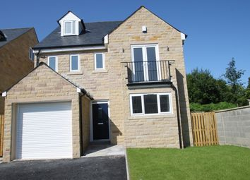 Thumbnail 4 bed detached house for sale in Old Cottage Close, Hipperholme, Halifax
