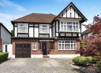 Thumbnail 4 bed detached house for sale in Furham Feild, Hatch End, Middlesex