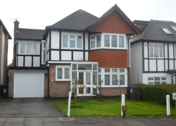 Thumbnail 4 bed detached house to rent in Vaughan Avenue, London