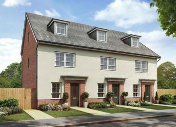 "Thumbnail 4 bed semi-detached house for sale in ""Queensville"" at Lightfoot Lane, Fulwood, Preston"