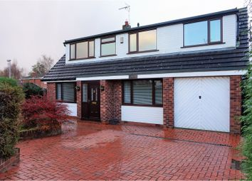 Thumbnail 3 bed detached house for sale in Station Road, Wrexham