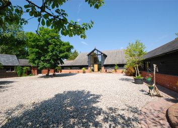 Thumbnail 6 bed barn conversion for sale in Willoughbys Lane, High Garrett, Essex