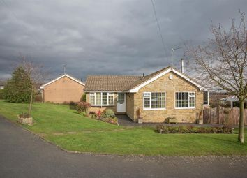 Thumbnail 3 bed detached bungalow for sale in West Pasture, Kirkbymoorside, York