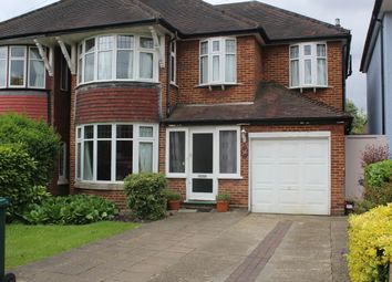Thumbnail 4 bed semi-detached house for sale in Church Crescent, Whetstone