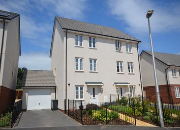 Thumbnail 4 bed semi-detached house for sale in Hook Drive, Rydon Place, Exeter