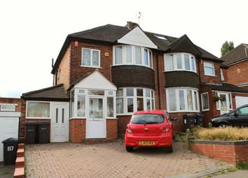 Thumbnail 3 bed semi-detached house for sale in Manor House Lane, Birmingham