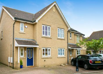 Thumbnail 3 bed end terrace house for sale in Wattle Close, Lower Cambourne, Cambridge