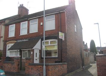 Thumbnail 2 bedroom end terrace house to rent in 12 Louise Street, Burslem