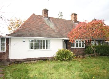 Thumbnail 3 bed semi-detached bungalow to rent in Middleton Boulevard, Nottingham, Nottinghamshire