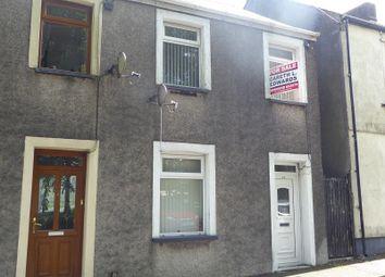 Thumbnail 2 bedroom end terrace house for sale in Oddfellows Street, Bridgend, Bridgend.