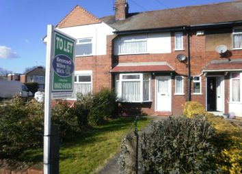 Thumbnail 2 bedroom terraced house to rent in Hotham Road South, Hull, East Riding Of Yorkshi