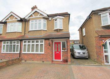 Thumbnail 4 bed semi-detached house for sale in Elmwood Close, Wallington