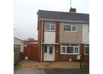 Thumbnail 3 bed semi-detached house to rent in Denver Road, Fforestfach, Swansea, Swansea.