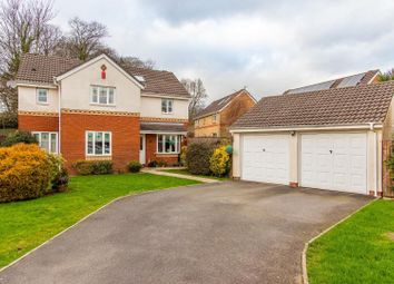 Thumbnail 4 bed detached house for sale in Charlock Close, Thornhill, Cardiff