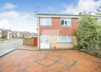 Thumbnail 3 bedroom semi-detached house for sale in Benson Close, Luton