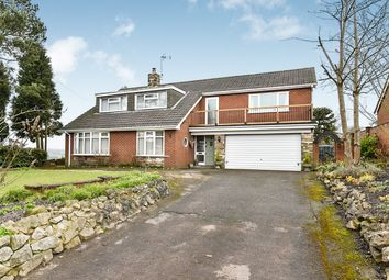 Thumbnail 4 bed detached house for sale in Godley Lane, Dilhorne, Stoke-On-Trent