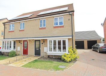 Thumbnail 3 bed semi-detached house for sale in Millport Drive, Eye, Peterborough