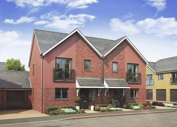 Thumbnail 3 bed semi-detached house for sale in The Chestnut At Springhead Park, Wingfield Bank, Northfleet, Gravesend