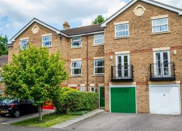 Thumbnail 4 bed town house for sale in Burns Close, Carshalton, Surrey