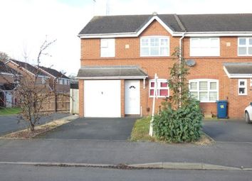 Thumbnail 3 bed end terrace house for sale in Ferry Farm Drive, Meadowcroft Park, Stafford, Staffordshire