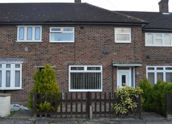 Thumbnail 3 bed terraced house to rent in Melksham Green, Romford