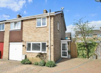 Thumbnail 3 bed end terrace house for sale in Argosy Close, Chalgrove, Oxford