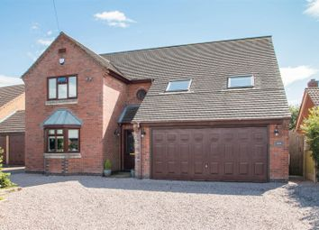 Thumbnail 4 bed property for sale in Newbold Road, Barlestone, Warks