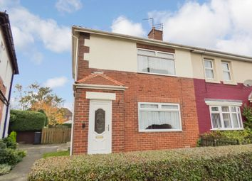 Thumbnail 2 bed semi-detached house for sale in Second Avenue, Morpeth