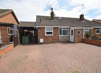 Thumbnail 3 bedroom semi-detached bungalow for sale in Wallwin Close, Roade, Northampton