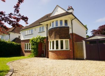 Thumbnail 4 bed detached house to rent in Boxgrove Avenue, Burpham, Guildford
