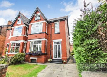 Thumbnail 5 bed semi-detached house for sale in Church Road, Urmston, Manchester