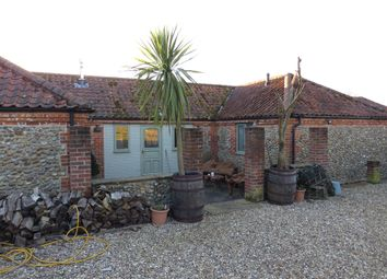 Thumbnail 3 bed detached bungalow for sale in Letheringsett Hill, Holt
