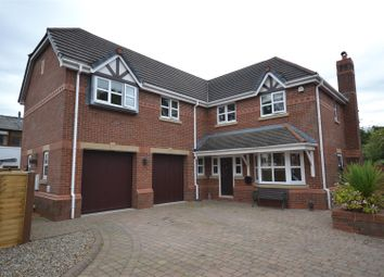 Thumbnail 5 bed detached house for sale in Church Gardens, Euxton, Chorley