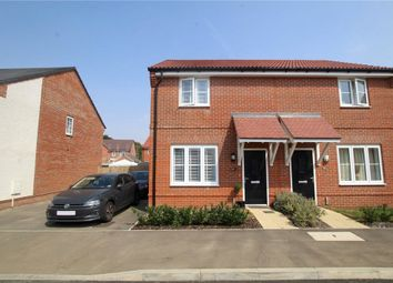 Thumbnail 2 bed semi-detached house for sale in Oxlip Way, Stowupland, Stowmarket