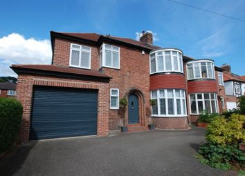 Thumbnail 5 bed semi-detached house for sale in Fernville Road, Gosforth, Newcastle Upon Tyne