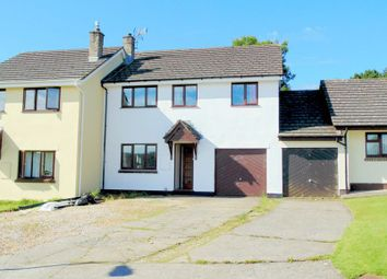 Thumbnail 4 bedroom semi-detached house for sale in Glascott Close, Hatherleigh, Okehampton