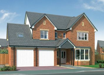 "Thumbnail 4 bed detached house for sale in ""Humber"" at Stevenston Street, New Stevenston, Motherwell"