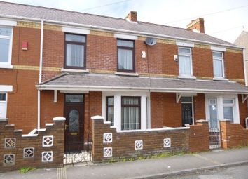 Thumbnail 3 bedroom terraced house for sale in Dunraven Street, Aberavon, Port Talbot, Neath Port Talbot.