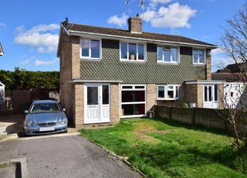 Thumbnail 3 bed semi-detached house for sale in Nautilus Close, Minster On Sea, Sheerness, Kent