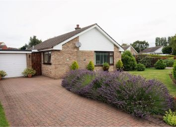 Thumbnail 3 bed detached bungalow for sale in Manor Road, Saxilby