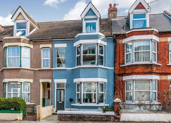 Thumbnail 5 bed terraced house for sale in Garfield Road, Margate