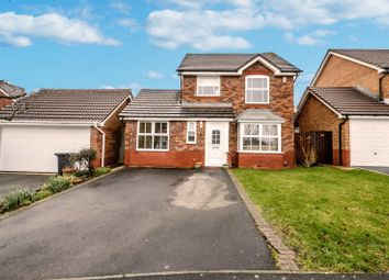 Thumbnail 4 bed detached house for sale in Sound Copse, Peatmoor, Swindon